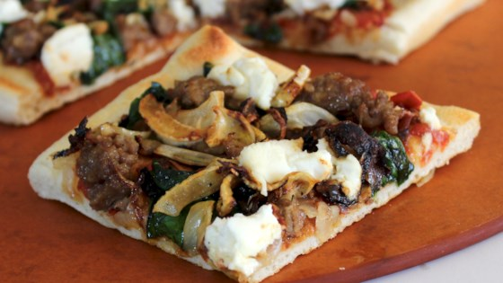 Photo of Sausage, Ricotta, and Fennel Pizza by SunnyDaysNora