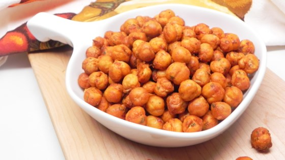 Photo of Air Fryer Buffalo-Ranch Chickpeas by Soup Loving Nicole