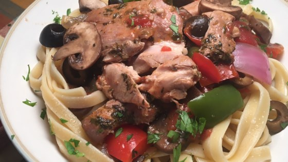 Photo of Elise's Slow Cooker Chicken Cacciatore by its816am