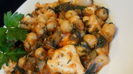 Italian Chicken and Chickpeas