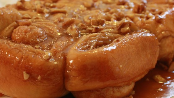 Photo of Overnight Caramel Pecan Rolls by ERIBERRY