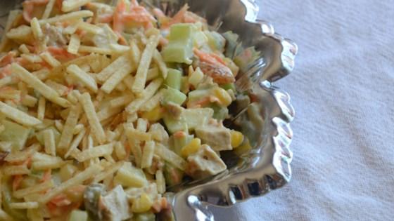 Photo of Brazilian Chicken Salad (Salpicao de Frango) by Mia