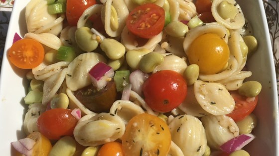 Photo of Tuscan Fava Bean and Orecchiette Pasta Salad by Cathy Myers