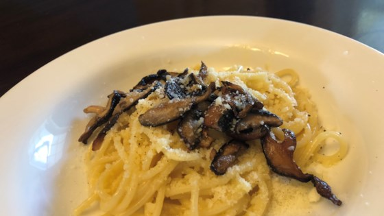 Photo of 10-Minute Mushroom Carbonara by Ryan Schroeder