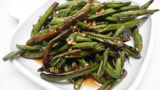 Photo of Air Fryer Spicy Green Beans by Soup Loving Nicole