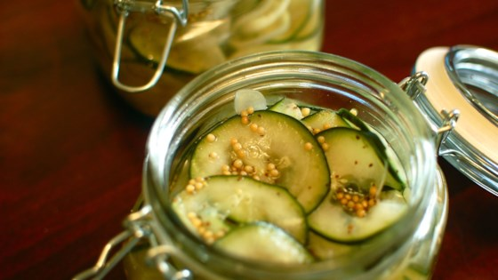 Photo of Sweet Refrigerator Pickles by globalkitchen