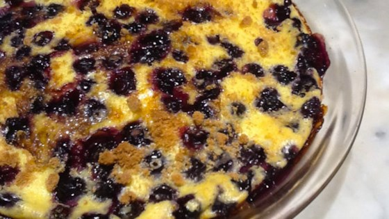 Photo of Blueberry Buttermilk Clafoutis by nch