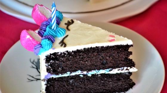 Chocolate Unicorn Cake
