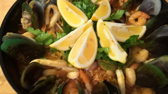 Photo of Authentic Seafood Paella by Allrecipes