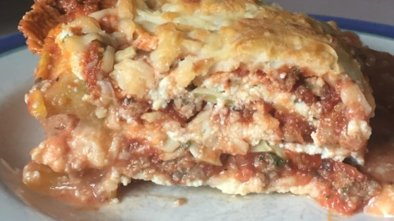 ultimate low carb zucchini lasagna review by diane block