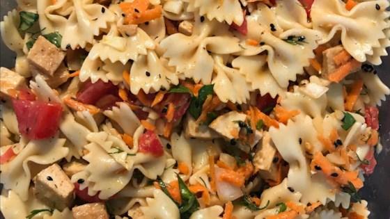 Photo of Tofu Pasta Salad by cloverleaf_bella