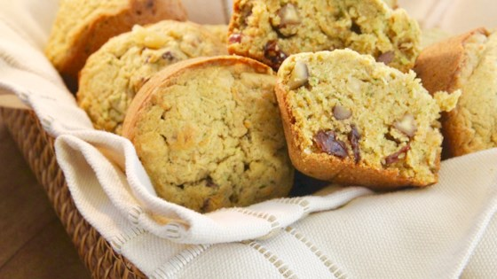 Photo of Spiced Zucchini Carrot Muffins by sassbyheather