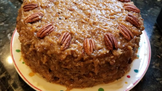 Willard Family German Chocolate Cake Recipe