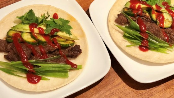 Photo of Korean-Style Bulgogi Beef Tacos by Joon Ma