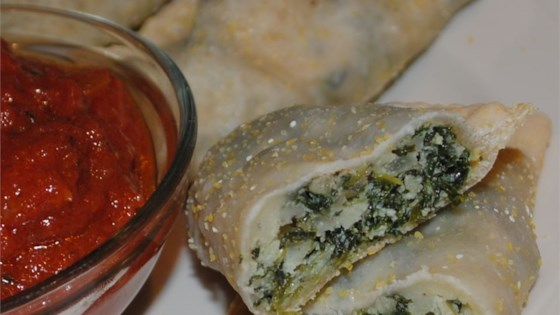 Photo of Quick Spinach-Ricotta Calzones by USA WEEKEND columnist Pam Anderson