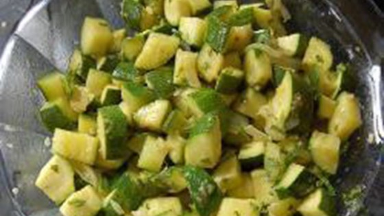 Photo of Vegan Zucchini Salad by Michaela