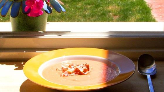 Photo of Salmorejo (Spanish Chilled Tomato Soup) by Luis Luna