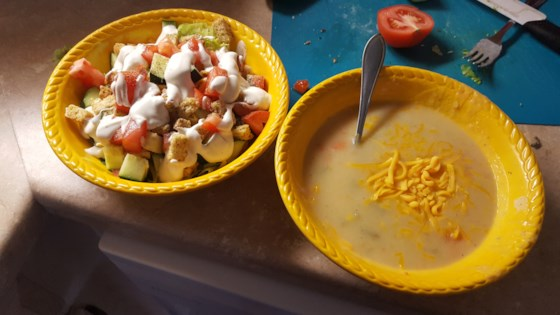 Photo of Vegan Potato Soup by Autumn Pumpkin
