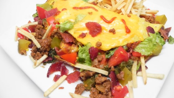 Photo of Bacon Cheeseburger Omelette by Soup Loving Nicole