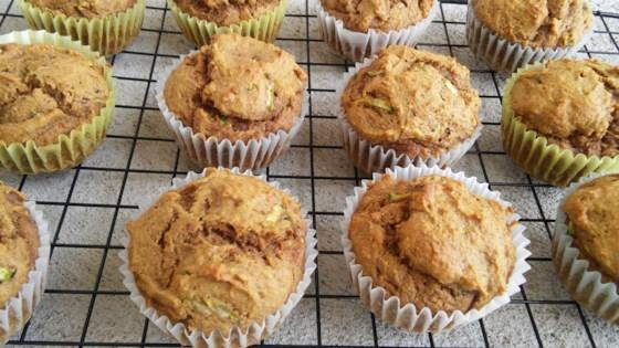 Photo of Pumpkin Spice Zucchini Muffins by Stefani Danielle