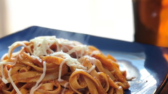chef johns spaghetti with red clam sauce review by lance