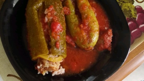 Photo of Middle Eastern Stuffed Zucchini by KELLYJEANNE