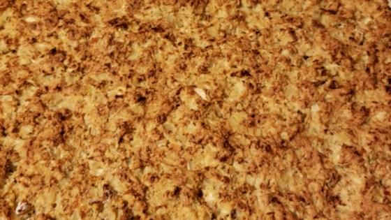 Photo of Cauliflower Almond Pizza Crust  by whit.meier