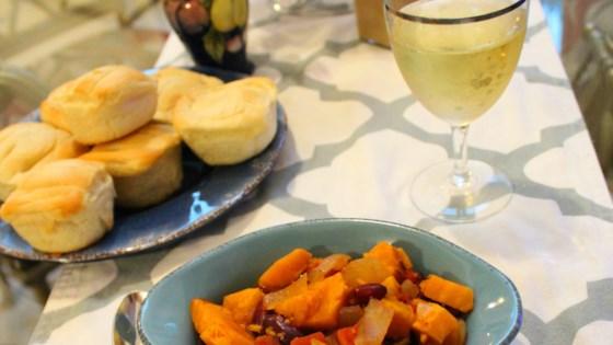 Photo of Slow Cooker Vegan Sweet Potato Chili  by Nate Bartlett
