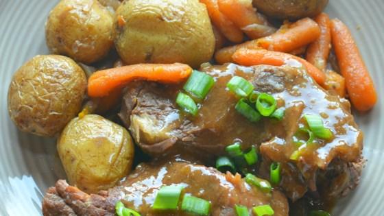 Instant Pot® Pot Roast with Potatoes and Carrots Recipe