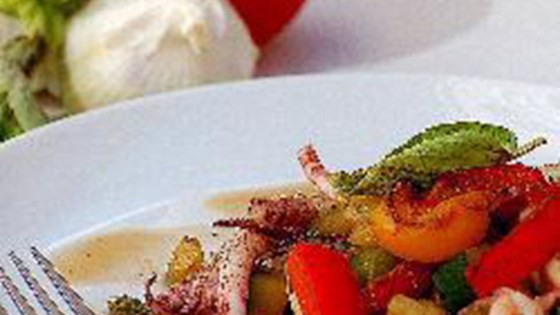 Photo of Squid with Mixed Vegetables by nt_bella