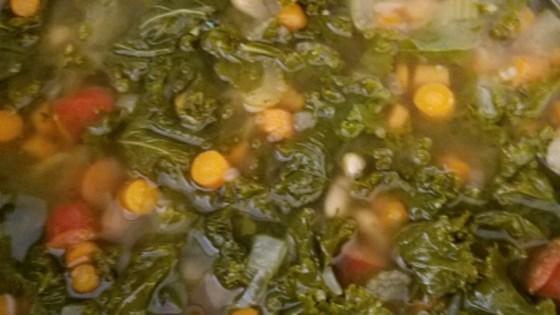 Photo of Big Ray's White Bean, Kale, and Kielbasa Soup by bfr610