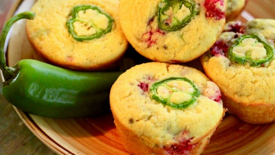 "Photo of Cranberry Jalapeno ""Cornbread"" Muffins by Prestwood Family"