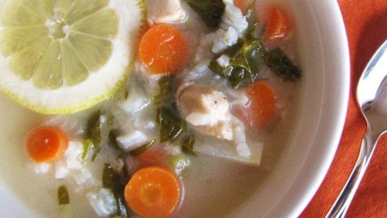 Lemon Chicken Soup II