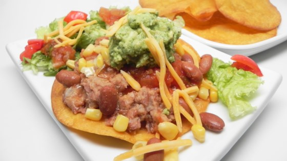 Photo of Crunchy Vegan Tostadas by The Tortilla Channel