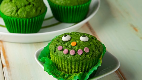 Photo of Green Power Muffins by Almond Breeze
