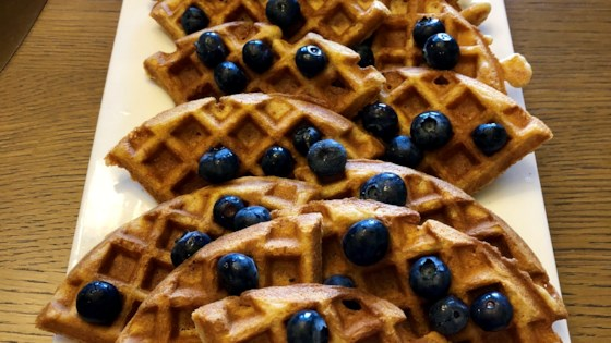Photo of Almond Flour Waffles by nmyers11