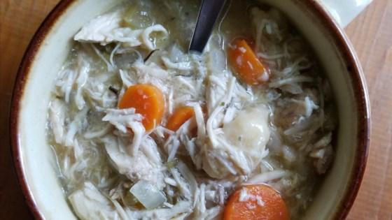 Photo of Easy Slow Cooker Chicken and Dumplings by Erin Krysten