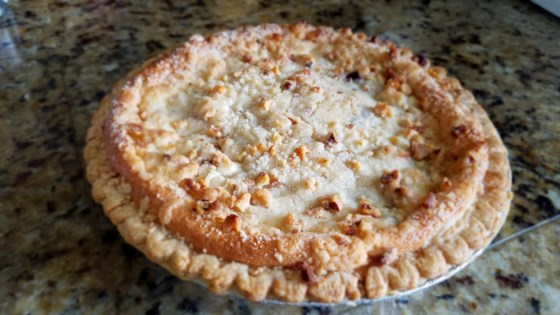 Photo of True Blue Custard Crunch Pie by Beth Zelle