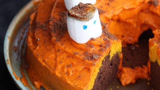Photo of Halloween Buttermilk Bundt® Cake by Buckwheat Queen