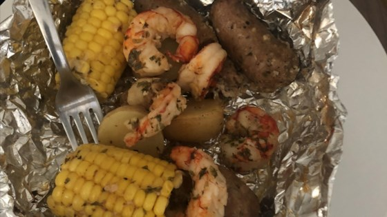 Photo of Shrimp Boil on the Grill by Rose