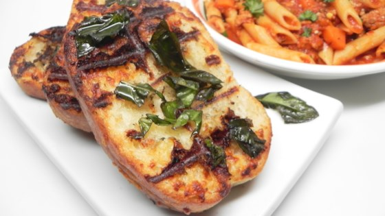 Photo of Great Grilled Garlic Bread by SABMAN