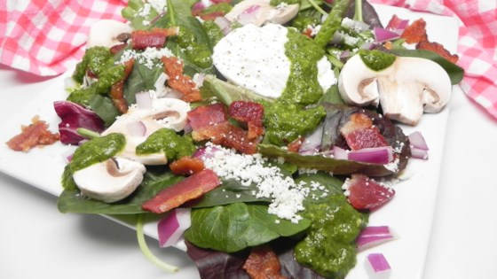 Photo of Saturday Breakfast Salad with Poached Egg and Chimichurri by Kate Y.