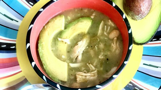 Photo of Best Slow Cooker White Chicken Chili  by Yoly