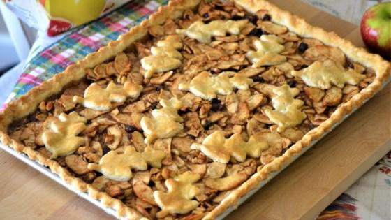 Autumn Apple Slab Pie Recipe