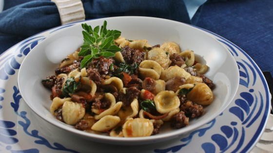 Photo of Orecchiette with Fresh Tomatoes and Sausage by Staci