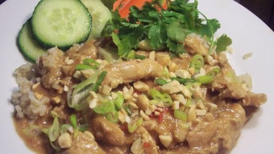 Slow Cook Thai Chicken Recipe