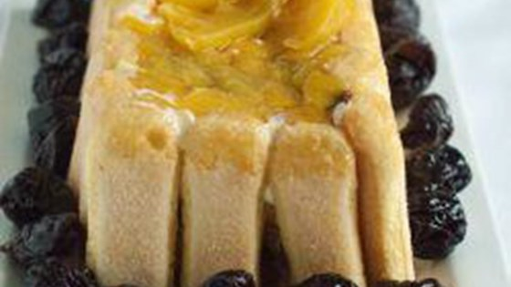 Photo of Pave de Pessego (Brazilian Peach Dessert) by Nina