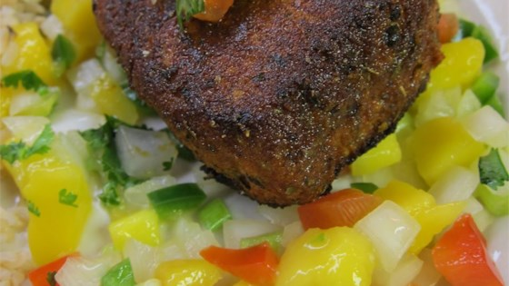 Photo of Blackened Tuna Steaks with Mango Salsa by AcadiaBoi