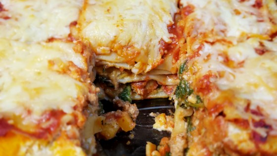 Photo of Biddy's Butternut Squash and Turkey Lasagna by Christine Houser