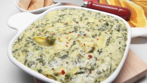 Photo of Instant Pot® Spinach and Artichoke Dip by Soup Loving Nicole